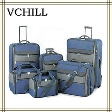 Best selling cheap pomotional vantage travel bag EVA soft trolley luggage from Factory