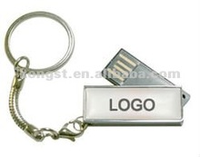 ((New Arrival)) Classy fast speed mini new pen drive 2012 with key chain