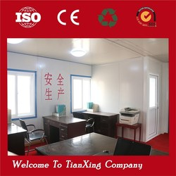 2015 China Hot Sale Newest prefab building movable office containers modular for sale