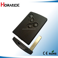 Koleos 4 buttons smart key case for Renault car key shell
