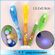 spy gift secret message UV light invisible ink pen magic Ink Pen