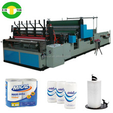 Rewinder kitchen towel roll paper machine Tissue roll production equipment