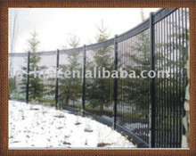 Galvanized Steel garden fencing