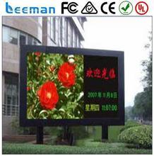 rental led board factory Leeman P12.5 SMD scrolling advertising billboard
