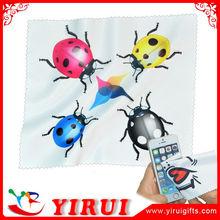 YB119 custom print microfiber glasses cleaning cloth