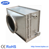 ventilation heat recovery system with high effecient heat pipe tech.