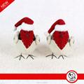 Súper ventas pájaro rojo del ornamento de la navidad, navidad decoración de aves