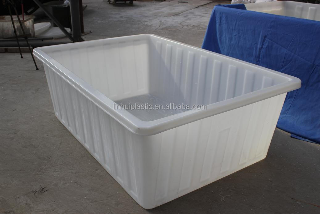 Oem durable lldpe large plastic open top water storage