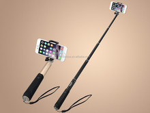 Professional Monopod stick Bluetooth Extendable self shutter stick Handheld remote control for iPhone Samsung Phone