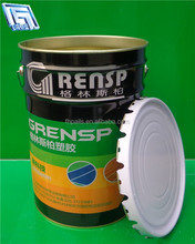 25L paint metal tin bucket for water paint bucket