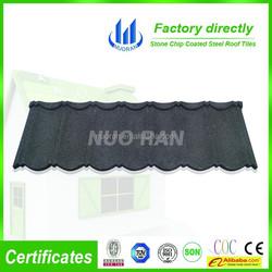 NUORAN stone coated steel shingle / stone coated steel roof tile
