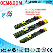 LED Tube Light Non-isolated Driver Power Supply Shenzhen Factory T5 Tube Internal Constant current Power driver