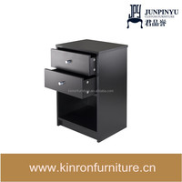 Winsome Ava Accent Table with 2-Drawer in Black Finish, Professional OEM home bar cabinet