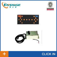 LED solar traffic arrow board 1400 with nine led light with car