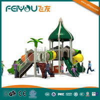 Tropical Rainforest Serie China multiple commercial/yard/school/park/restaurant used playground equipment sale