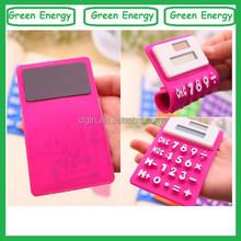 Good quality silicone calculator ,gift calculator