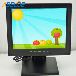 high quality H-D-M-I/RCA/VGA Connectors10.4 Inch Touchscreen TFT Monitor