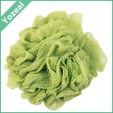 High quality pe mesh sponge in bath,soft net bath sponge wholesale