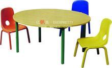 Baratos ronda de mesa y una silla de jardín de infantes para, baratos grande comedor de mesa redonda