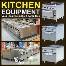 Wholesale china factory commercial kitchen equipment/heavy kitchen equipment/industrial kitchen equipment