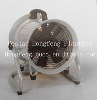 ventilation fan blower with pvc pipe/ portable fans for exhaust ventilation
