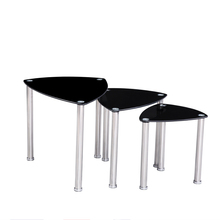 stainless steel legs mordern bed side table