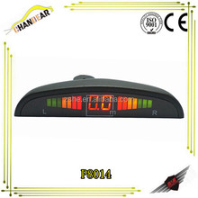 Car Parking Sensor System Distance Control Sensor With Led Display With 4 Sensor/probes Reverse Aid System Good Price Wholesale
