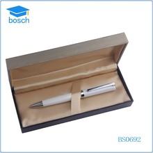 fashion metal ballpoint pen with chain custom metal ball pen wholesale