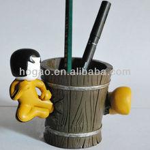 Customized kongfu Office Pen Holder