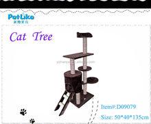 Luxury Big Wooden Cat House Top Sale Cat Tower Cat Furniture