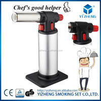 Creme Brulee Culinary Butane Torch -The Perfect Blow Torch for Brazing and Cooking YZ-709