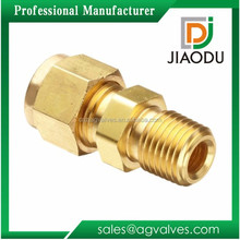 """1/2"""" 1/4 inch Hot Sell High Quality APEX Forge Male Compression Brass Tube Fitting Manufacture Factory price"""
