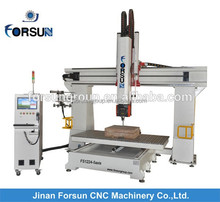 Factory price CE supply CNC Router Machinery for Wooden Furniture Legs/linear motion guide way cnc milling machine with siemens