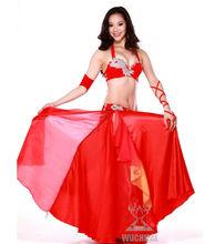 Fashional Belly Dance Performance Costumes , Show Dance Wear , Modern Dance Wear