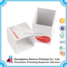 Lid and base two parts business card box 64x95x35mm for standar size business card