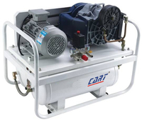 8bar (116PSI) 1.5KW 2200rpm belt driven oil free scroll compressor with air tank
