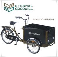 2015hot sales three wheel 3speeds/7speeds bike cargo/cargo tricycle bike/cargobike UB9005