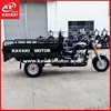 Delivery Motorcycle Three Wheel Gas Motor Tricycle With Dump Lift Up Cargo Box