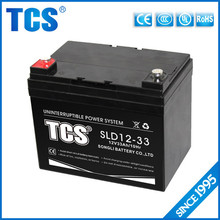 12v 33ah deep cycle UPS battery battery lead acid battery manufucturer in Xiamen China