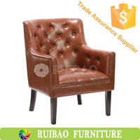 Hot Sale Luxury Living Room Furniture Leather Sofa Recliner Chair Single Seat PU Synthetic Leather Sofa Chair