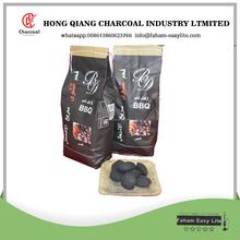 Almohada de briquetas de carbón vegetal