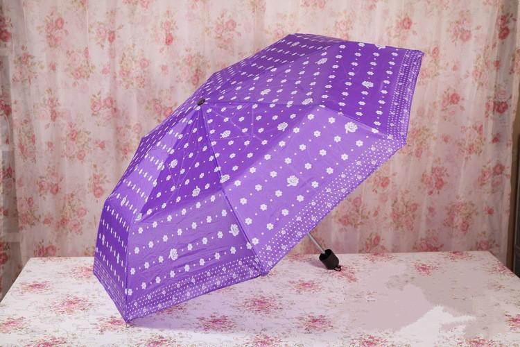 пара цветной зонтик фабрика прямой портативный рыбалка особенно тройной раскладной зонт открытый поклонников
