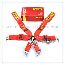 High quality racing seat belt 4 points safety seat belt strap