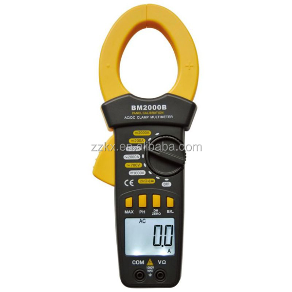 High Current Clamp : High current ac dc clamp meter a digital ampere