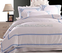 600TC Egyptian cotton commercial europe size hotel bed linen