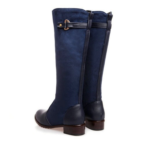 Vinlle 2015 Knee Boots Women Fashion Long Boot Winter Footwear High