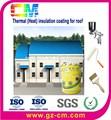 Spray revestimiento térmico- aislamiento térmico industrial pintura del techo