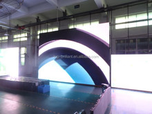 high brightness full color smd rental outdoor led screen P6 for events/activity/truck/stage