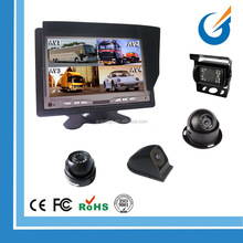 7'' Quad Monitor for Farm Tractor Agriculture Equipment