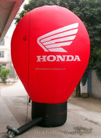 3mH advertising red Hot air Balloon shape inflatables